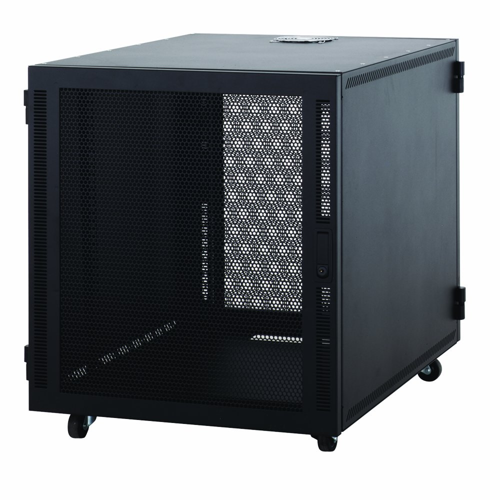 12U Compact SOHO Server Cabinet by Connect-Tek