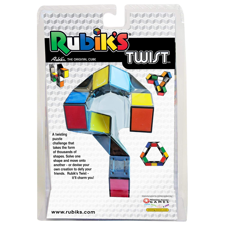 Rubiks Twist Brainteaser Puzzle 8 colors Twisty Toy