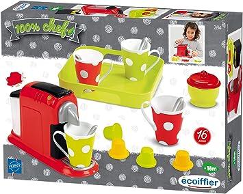 Ecoiffier 2614 - Cafetera con Tazas y Accesorios de Juguete ...