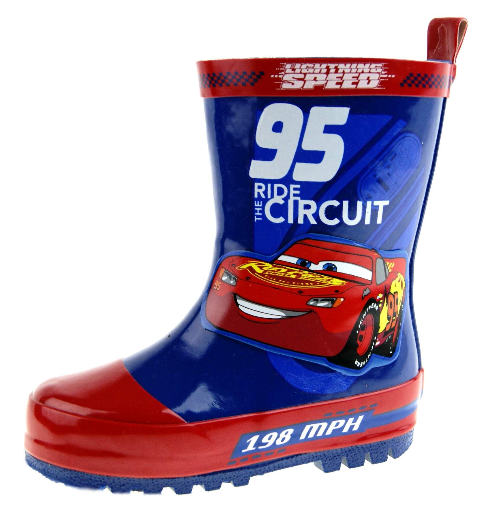 Disney Boys Cars 3 Wellington Boots