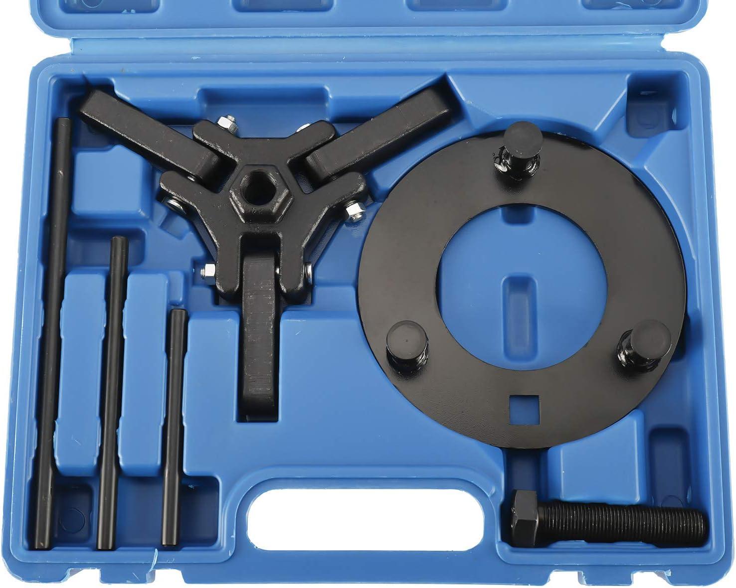 KUNTEC Harmonic Balancer Remover Installer Set Damper Pulleys Puller