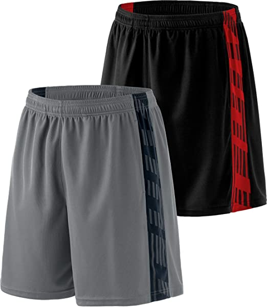 Mens Premium Basketball Training Shorts Male Gym Quick Dry Exercise Shorts with Pockets