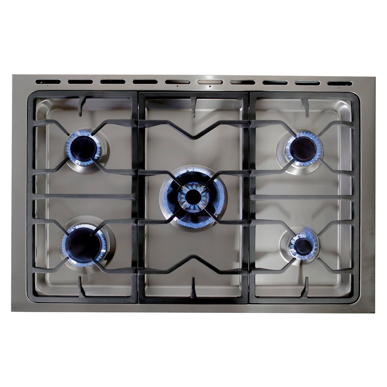 Amazon.com: Cosmo F965 36-Inches Dual Fuel Gas Range with 3.8 cu. ft ...