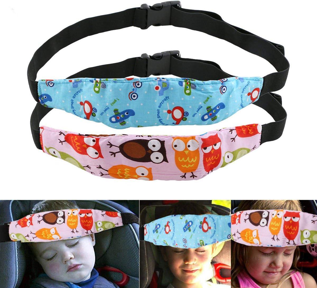Uraqt Bebés Soporte de la Cabeza para Cinturón de Seguridad de Coche