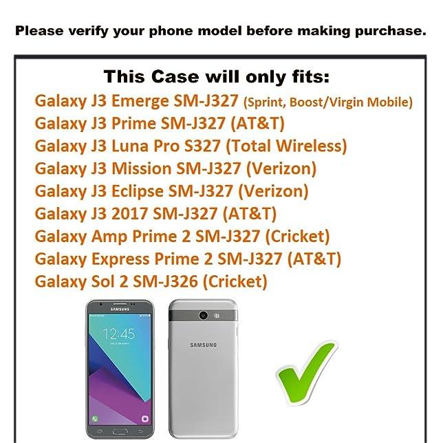 Amazon.com: For Galaxy J3 Emerge / J3 Prime / J3 Luna Pro / J3 ...