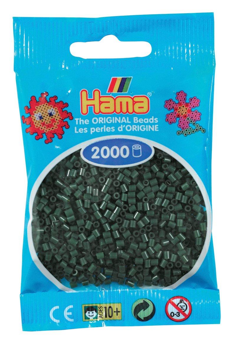 Mini perlas negras Desconocido Hama Perlen 501-18 Importado de Alemania 2000 piezas