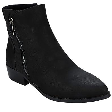 Bottes Vero Moda Thea pour femme en noir.  Amazon.fr  Chaussures et Sacs f9d3b8640a56