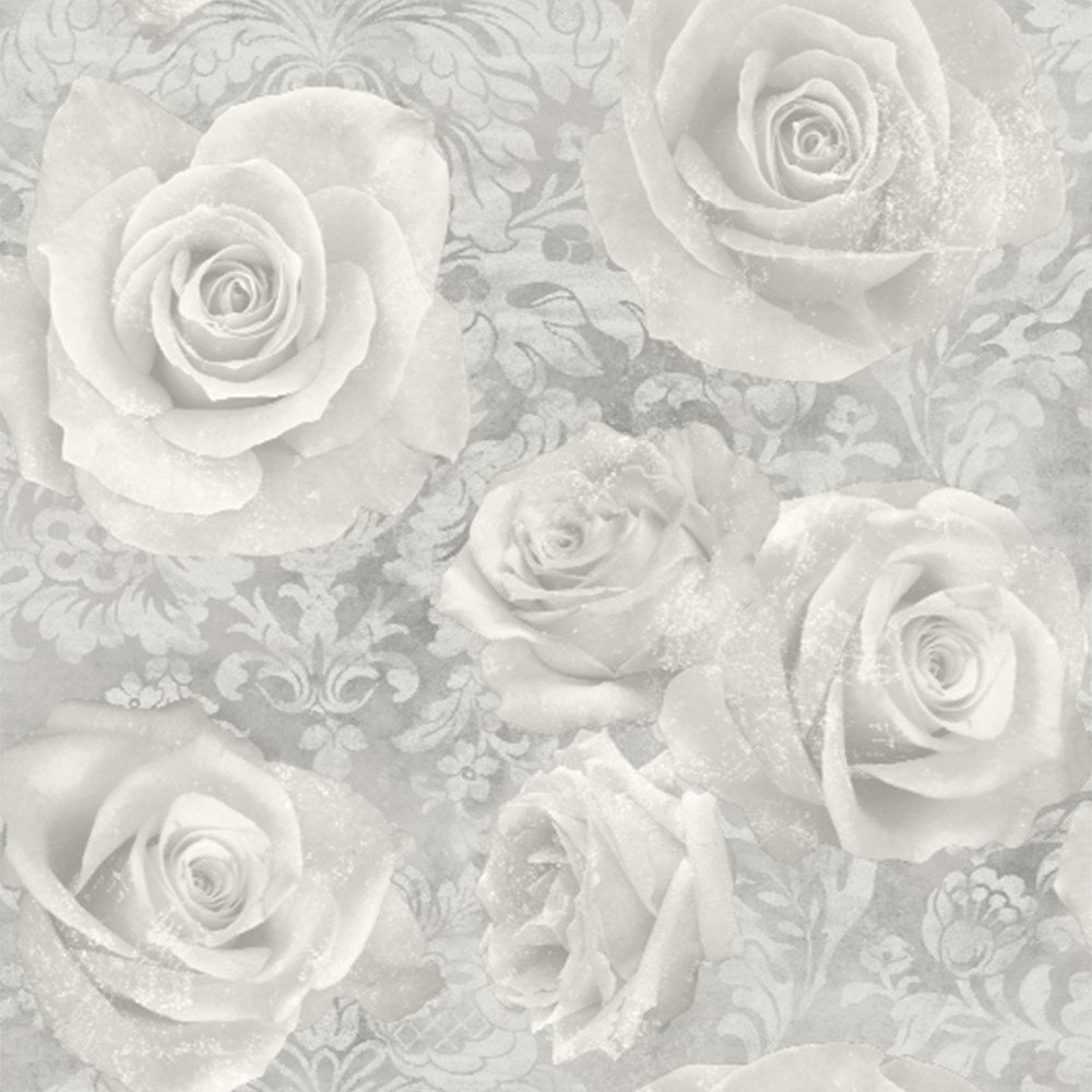 Arthouse Wallpaper, Silver 623303