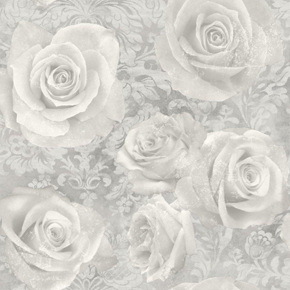 Arthouse Reverie Silver Wallpaper, Full roll