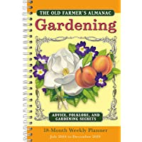 2019 Old Farmer's Almanac — Gardening 18-Month Weekly Planner: by Sellers Publishing, 6x9 (CW-0492)