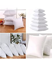 "Iyan Linens Ltd Pack 16"" x 16"" & 18'' x 18'' Cushion Pads with Bounce Back Polyester Hollow Fibre"