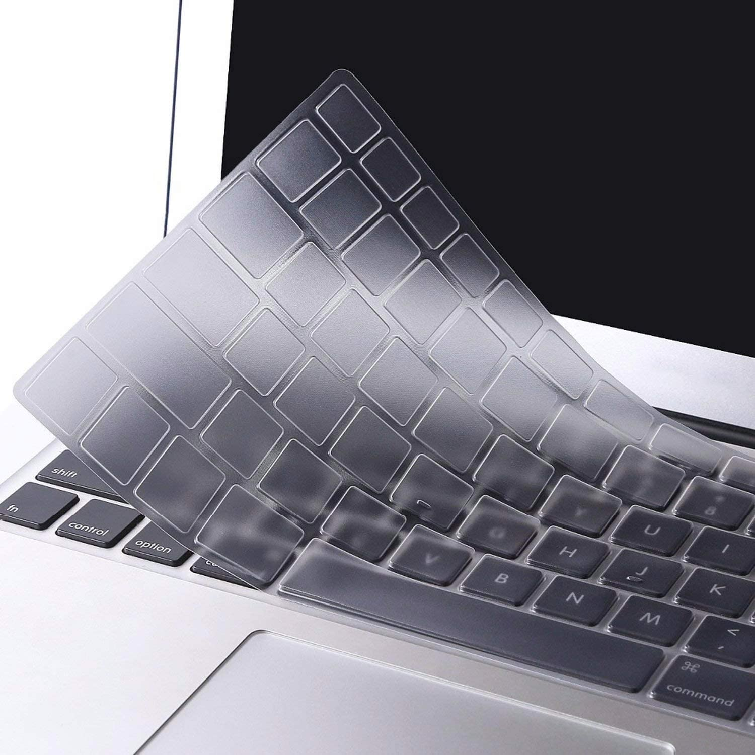 TPU Transparent Clear Keyboard Cover Skin Sticker for MacBook Air Pro Retina 11 12 13 15 Inch US Version A1932 A1466,Pro 15 Cd ROM A1286