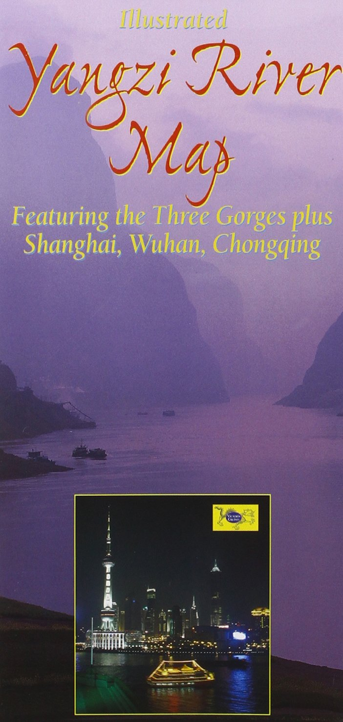 Yangzi River Map: From Source to Sea, Featuring the