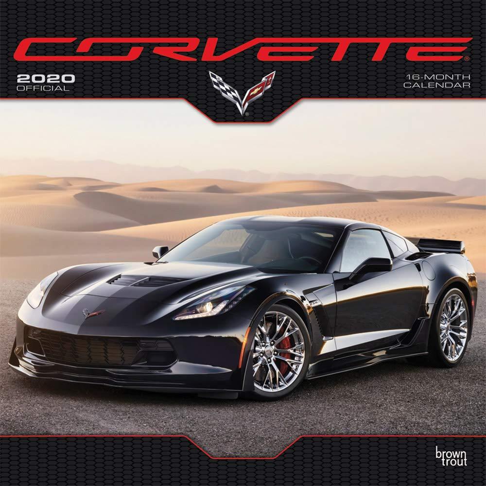 Corvette Calendar 2020 Corvette 2020 12 x 12 Inch Monthly Square Wall Calendar, Chevrolet
