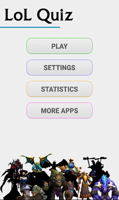 amazon com lol quiz league of legends appstore for android