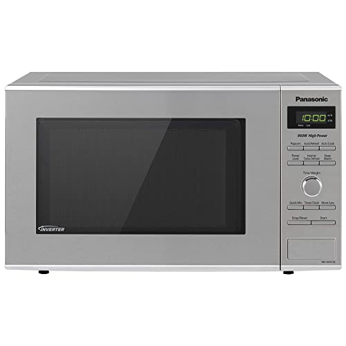 Panasonic Microwave Oven NN-SD372S Stainless Steel Countertop/Built-In