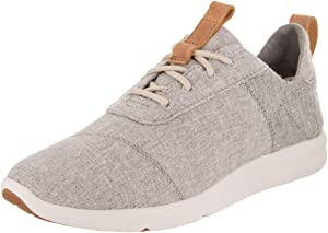 TOMS Women's Cabrillo Nubuck Ankle-High Leather Fashion Sneaker