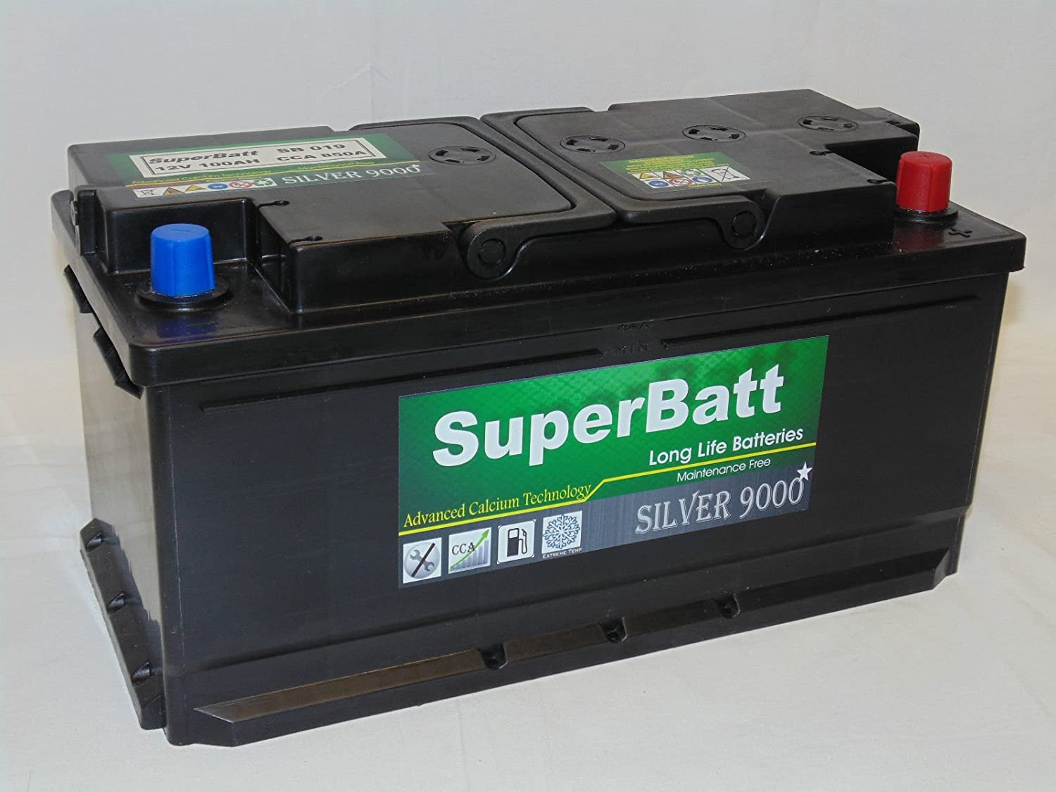 Type 019 Titanium Sealed Car Battery 100Ah - Fast & Free Delivery
