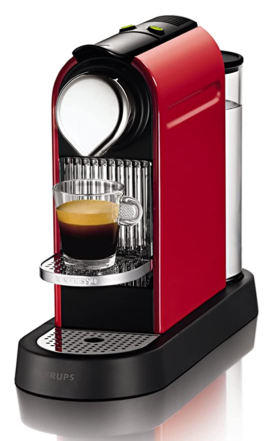 Nespresso Citiz XN 7405PR4, cafetera de cápsulas, 19 bares, Krups ...