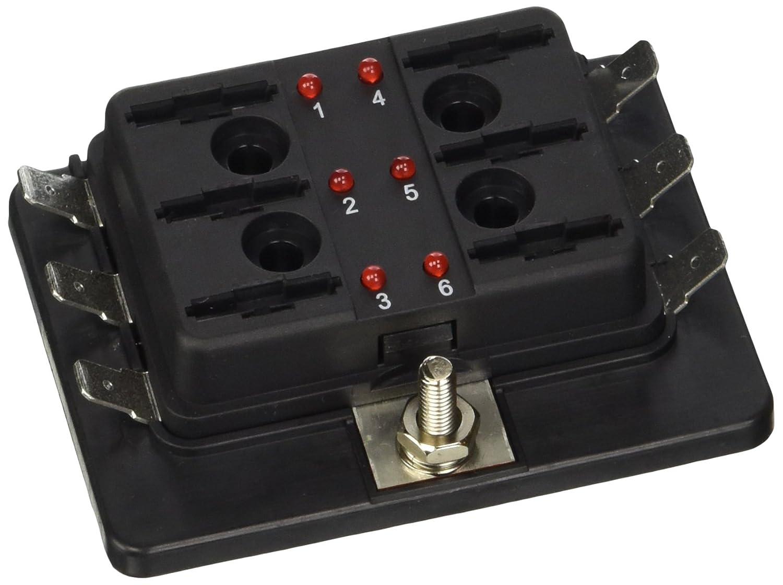Caja de fusibles del bloque de fusibles 6 salidas 12//24v Lampa