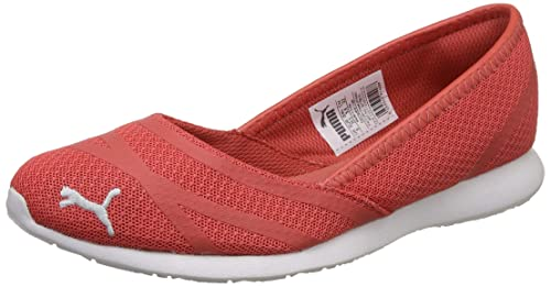 9c710d9a10b05c Puma Women s Vega Ballet Sweet Idp Spiced Coral Flats-3 UK India (35.5