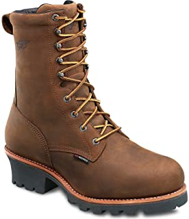 Red Wing Logger Boots Men's Steel Toes