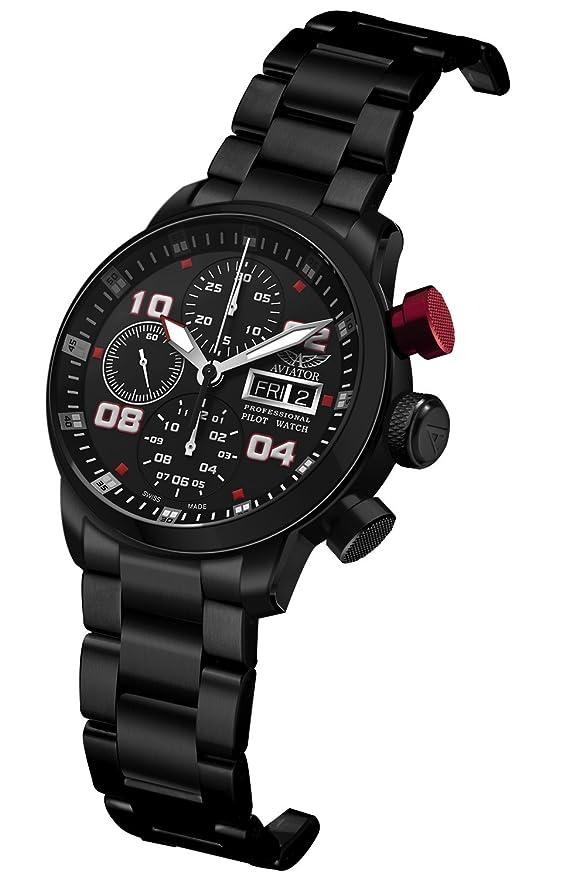 06da63bbff1 Aviator Professional Automatic  Amazon.co.uk  Watches