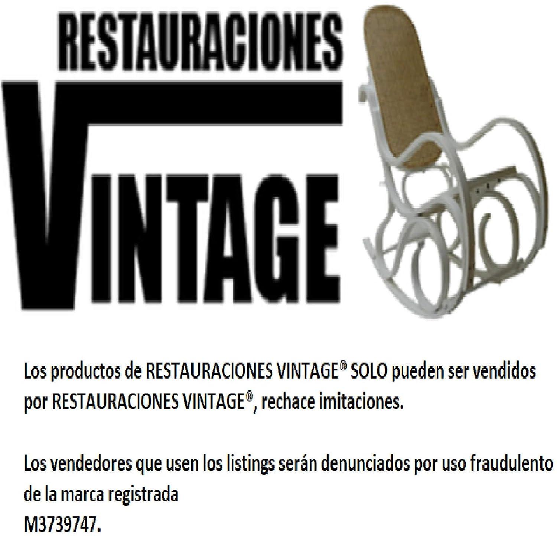 Restauraciones Vintage Médula de Junco para reparación de Rejilla Mimbre, sillas, mecedoras, etc. Diametro a Elegir y 2 m de Largo (4 mm)