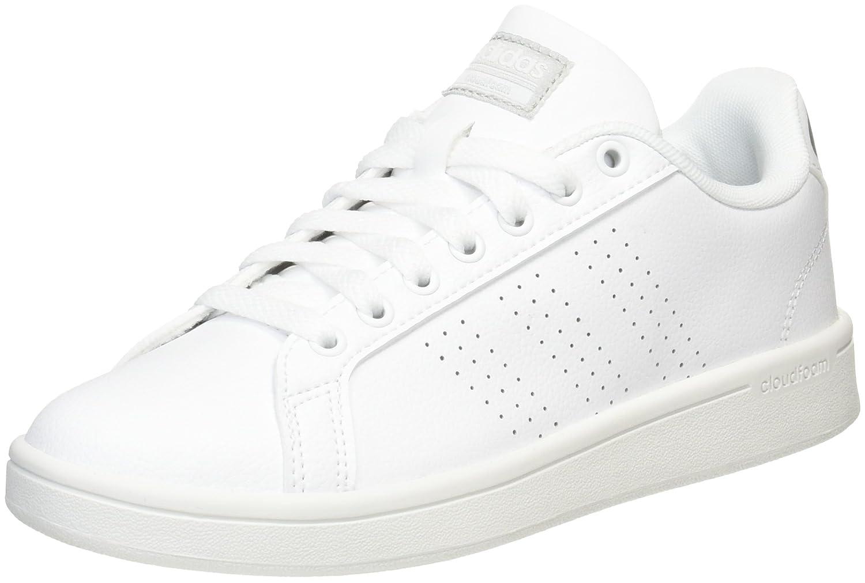 adidas Cloudfoam Advantage, Chaussures de Tennis Femme, Noir (Cblack/Cblack/Sunglo), 36 2/3 EU