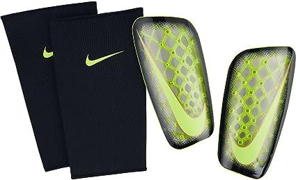nacionalismo Transitorio Es decir  Nike Mercurial Flylite Soccer Shin Guards (Clear, Volt, Black) Sz. Medium, Shin  Guards - Amazon Canada