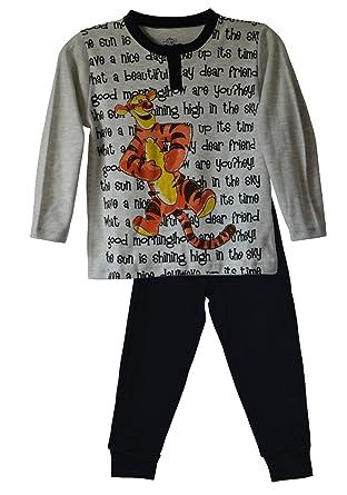 4549e9510 Amazon.com: Disney Tigger Boys Pajama Set: Clothing