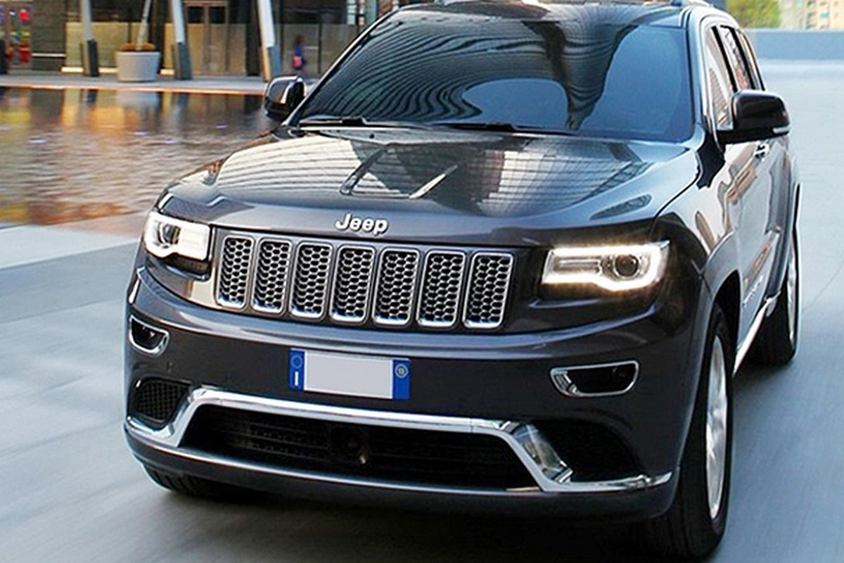 Amazon.com: Danti 2016 Latest Chrome Front Grill Mesh Grille Cover Inserts  For 2014 2015 2016 Jeep Grand Cherokee 7PC: Automotive