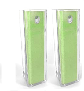 2 Acuvar All in One Screen Cleaning Sprays with Microfiber and Phone Stand. Cleans and Disinfects Smartphones, Tablets, LCD, LED Laptop, TV Screens, and More (Green)