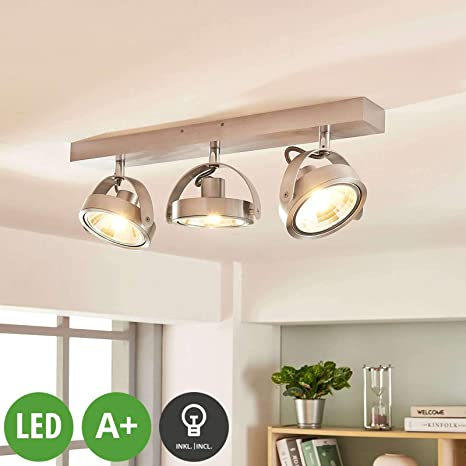 LED Proyector, foco Lieven (Moderno) en Gris hecho de Aluminio ...