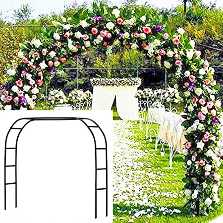 Amazon Com Metal Garden Arbor Wedding Arch 76 8 Inch H X 90 5