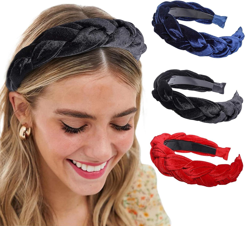 2019 Fashion Bow Knot Hairband Women Hair Head Hoop Sweet Girls Hair Headband CA