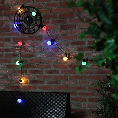 20 led festoon outdoor party lights on a 475m dark green cable by 20 led festoon outdoor party lights on a 475m dark green cable by festive lights aloadofball Choice Image