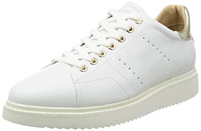 Geox Women's W THYMAR 2 White Athletic Shoe