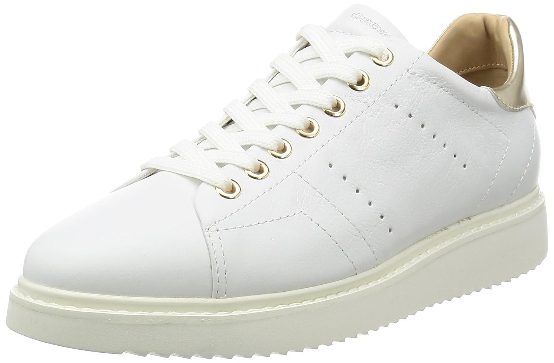 White Geox Women's D Ophira Sneakers