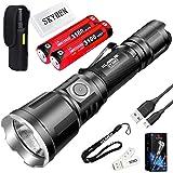 Klarus XT11X 3200 Lumens CREE XHP70.2 P2 LED 18650 Extreme Illumination Rechargeable Tactical Powerful Flashlight with 2 x 18