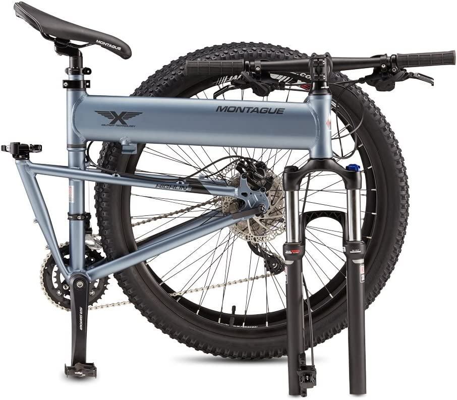 Montague Paratrooper Highline 20 Speed Folding Mountain Bike