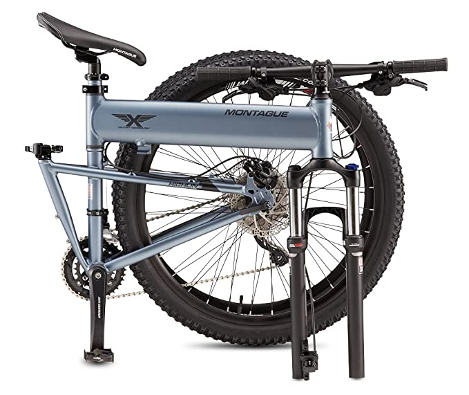 Montague Paratrooper Highline - Bicicleta plegable 18 en: Amazon.es: Deportes y aire libre