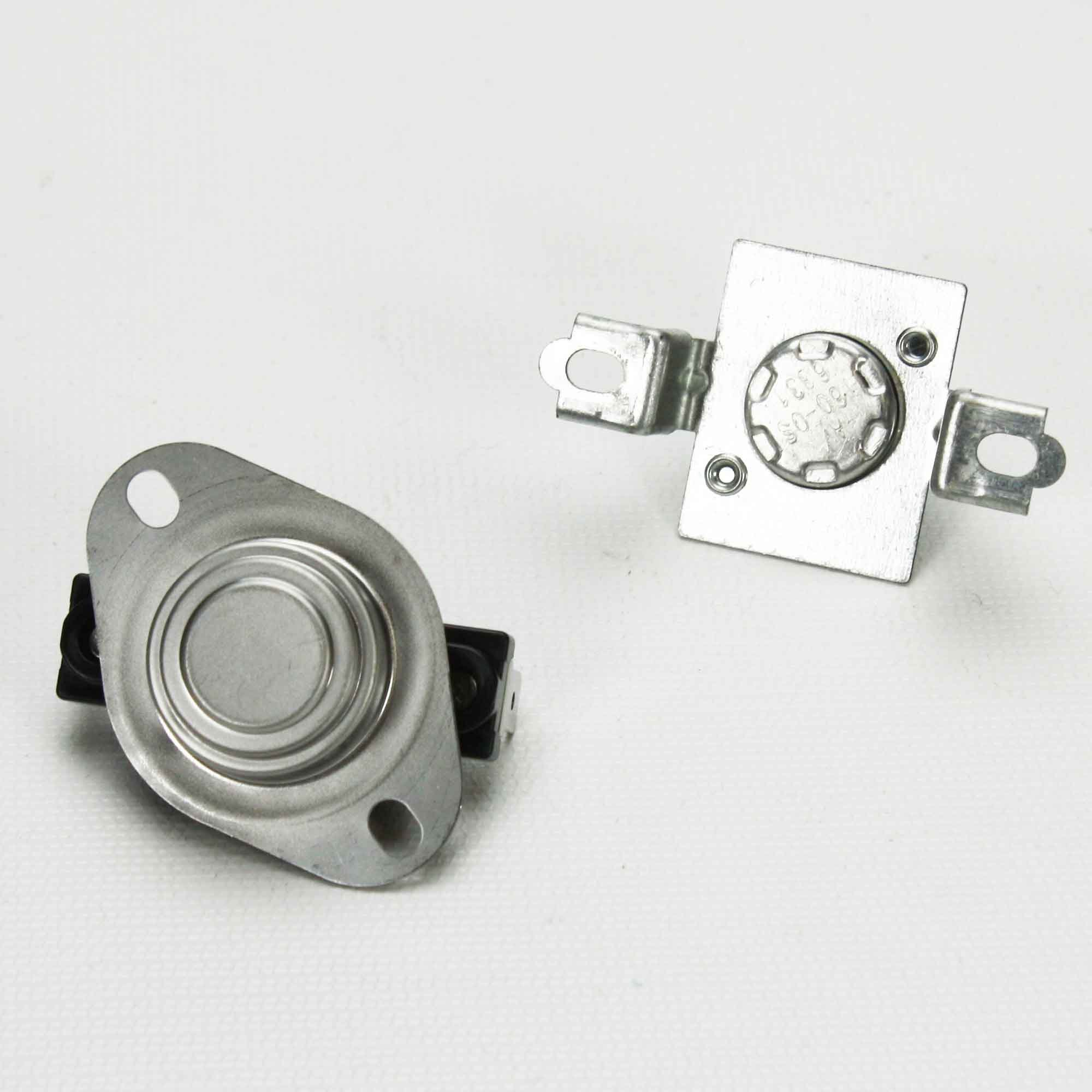 Package one each of DC47-00019A & DC47-00018A & DC96-00887A for Samsung Dryer