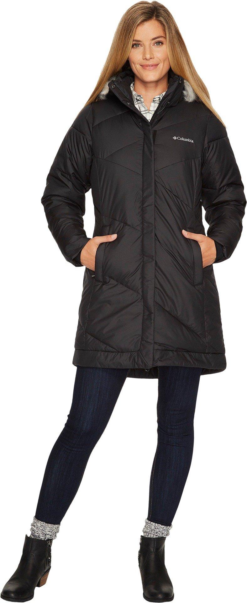 Columbia Women's Snow Eclipse Mid Jacket, Black, M