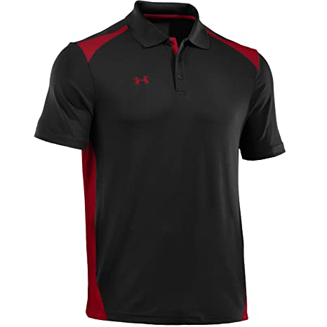 red and black under armour shirt
