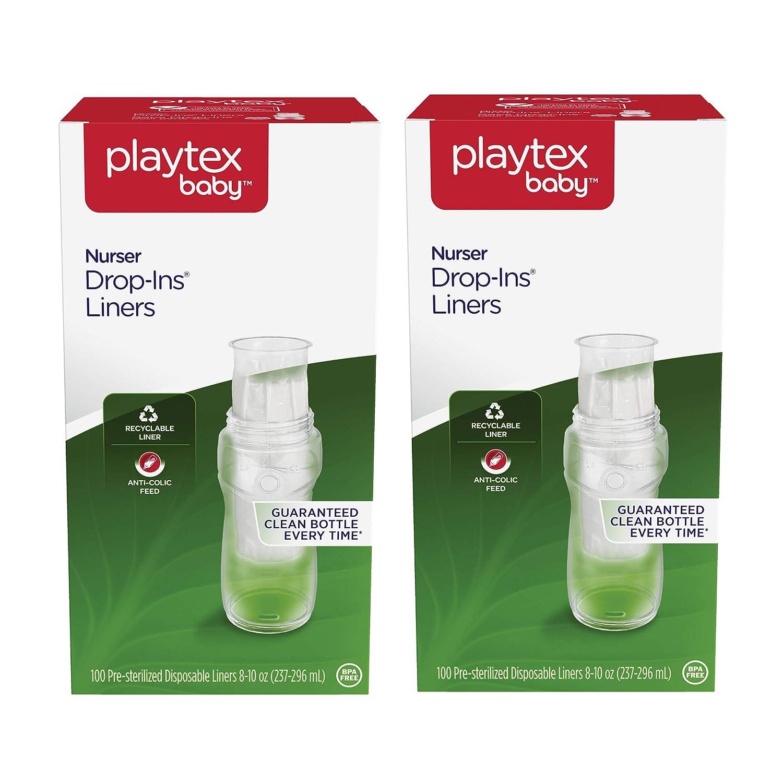Amazon.com: Playtex - Forro desechable para biberón de bebé ...