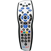 SAE Tata Sky Universal HD+ Plus Recording (Play,Pause, Rewind, Forward & Record Feature) Remote (Works with Tv as Well)