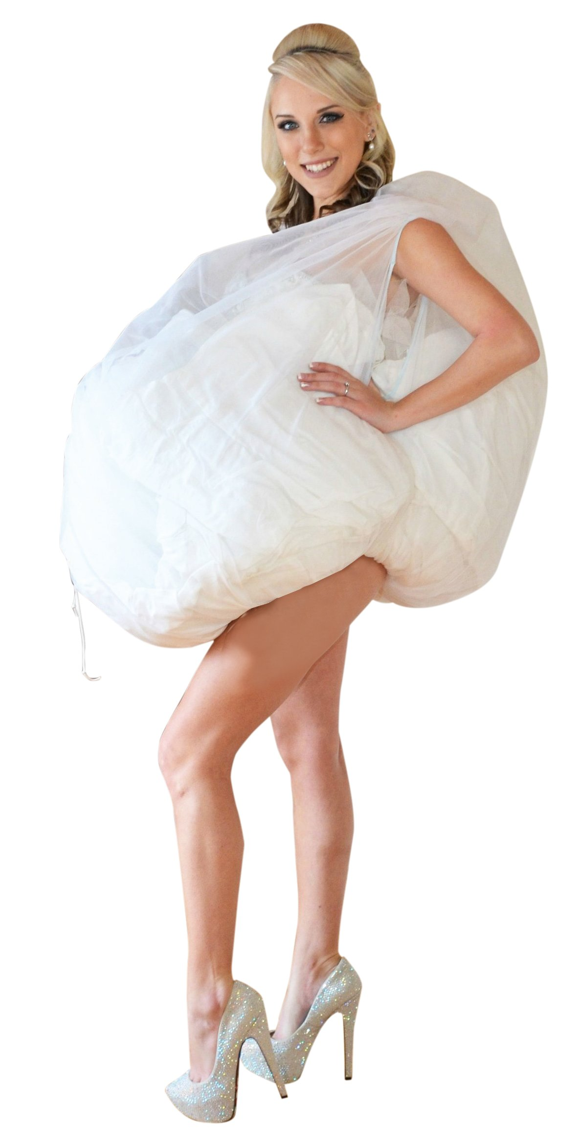 Bridal Buddy - Undergarment Slip for easy bathroom use- As Seen On Shark Tank