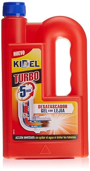 Kidel - Turbo, Desatascador, 1 L