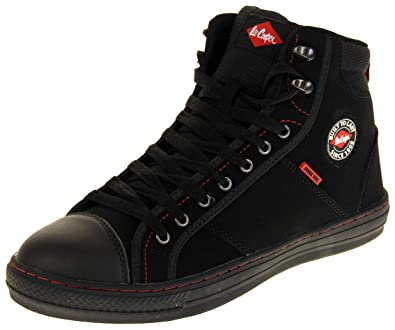 1ab3439a22 Amazon.com | Lee Cooper Mens Synthetic Suede Steel Toe Capped Safety ...